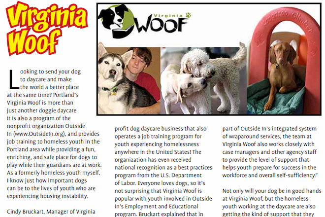 Virginia Woof in MAR/APR 2019 Pet Connection